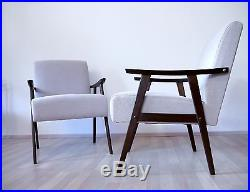 1 of 4 VINTAGE RETRO MID CENTURY MODERN 50s 60s ARMCHAIR LOUNGE EASY CHAIR