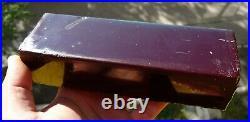100 % real high quality Bakelite Catalin Dice Rod Block 680 grams B-112