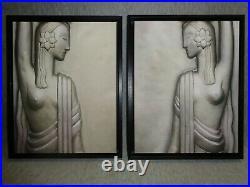 16 x 20 Cherokee Art Deco Machine Age True Canvas Print