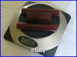 1930s Amber Bakelite 486 Gram Rare