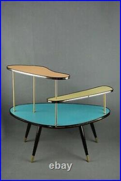 1950s XL PLANTSTAND Mid Century Danish Modern Plant Stand Vintage Eames 60s 70s