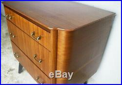 1950s mid century petite chest of drawers