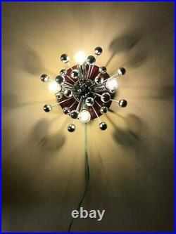 1960s Mid-Century Sputnik Sconce