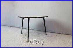 1960s mid century vintage French small side table
