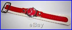 1966 Hamilton Vantage Retro Mid Century Design Pop Art Dr Pepper Cuff Watch Mint