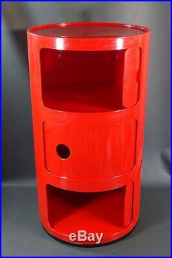 1967 Italian MCM Kartell Anna Castelli Componibili Modular Drawer Storage Unit