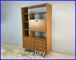 1970s mid century shelf unit / room divider by Schreiber
