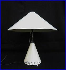 1980 Memphis Table Lamp Mushroom Italy Metal Vintage Retro