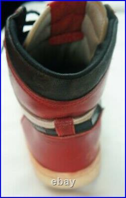 1985 Nike Air Jordan 1 Vintage OG Original Size 9 Michael Jordan Left Shoe Only