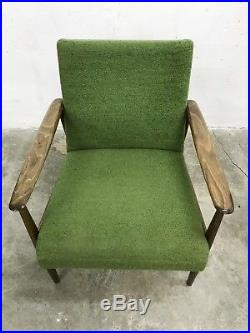 1of2 VINTAGE RETRO MID CENTURY MODERN 50s 60s ARMCHAIR LOUNGE EASY CHAIR