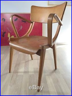 1of3 VINTAGE RETRO MID CENTURY 1950s 1960s WOODEN DINING CHAIRS