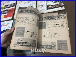 24 Vintage 40s 50s MID CENTURY MODERN HOME MAGAZINE Lot ranch house plans design