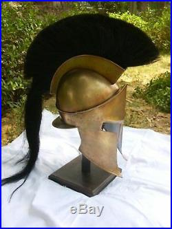 300 Spartan Helmet King Leonidas Movie Replica Helmet Medieval