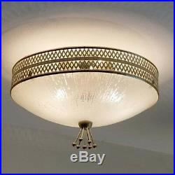 499b 60s 70s Vintage Ceiling Light Lamp atomic midcentury eames retro
