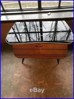 50's 60's mid century retro vintage cabinet with storage
