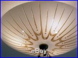501b 50s 60s Vintage Ceiling Light Lamp atomic midcentury eames retro 1 of 3