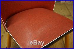 50er Vintage Rockabilly Retro Stuhl Mid Century Esszimmer Side Chair Sessel
