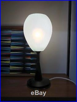 50s 60s original table lamp vintage retro mid century