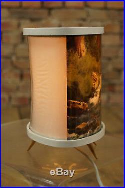 60er Leuchte Lampe Vintage Tischlampe Retro Stehlampe Fernsehlampe Midcentury