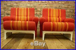 60er Vintage Lounge Armchair Easy Chair Ernst Moeckl Mid-Century 70er 1/18