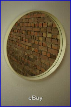 70er Wandspiegel Vintage Spiegel Mid-Century Retro Garderobenspiegel Space Age 2