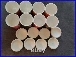 8 Vintage LAURIDS LONBORG jars canisters/containers. Danish, Lena Eklund