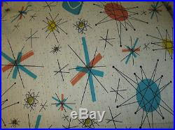 Atomic Starburst Vtg Franciscan North Star Fabric