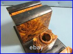 Bakelite catalin smokng set