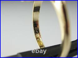 Citrine Ring Retro Period Mid Century 14K Yellow Gold Estate Vintage Jewelry
