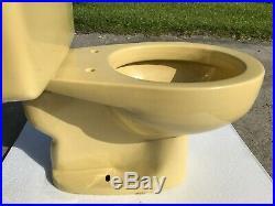 Crane Harvest Gold Toilet Vintage Mid Century Modern Classic Color 031 Autumn