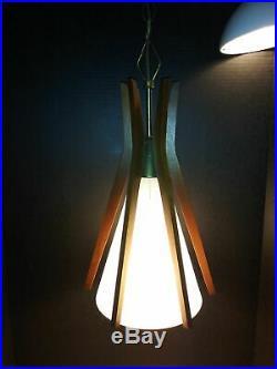 Danish Mid-Century Modern Pendant Lamp Hanging Ceiling Lamp Vintage Retro RARE