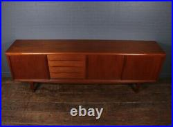 Danish Mid Century Teak Sideboard by H P Hansen, vintage, original