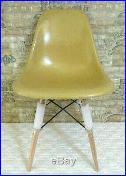 Dowel Leg Chair Base Herman Miller Eames Shell Mid Century Knoll withHardware Pack
