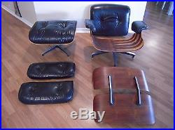 Eames Herman Miller Catalog # 670 671 Rosewood Lounge Chair ...