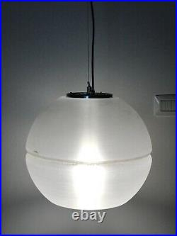 FABULOUS PENDANT BIG GREAT ATMOSPHERE LAMP GUZZINI-MEBLO PLASTIC-FANTASTIC 70s