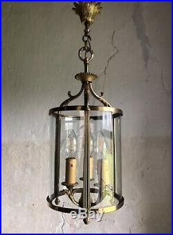 Fine Quality Mid Century Vintage French Lantern Light. 1950s
