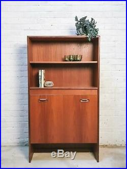 G Plan Drinks Cabinet / Wall Unit / Bookcase VINTAGE MID-CENTURY
