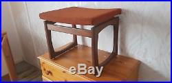 G Plan dressing table stool / seat mid century Vintage Retro