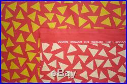 GEORGE SOWDEN original TRIANGOLO Fabric for MEMPHIS 1983 NOS
