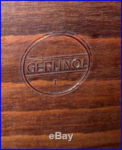 Gerlinol Vintage Retro Mid Century Folding Trolley Chrome Tea Cocktail Serving