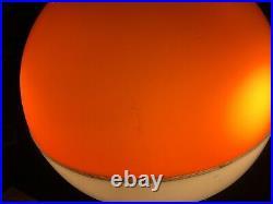 Harvey Guzzini Meblo Beautiful Super Rare Ufo Saturn Plastic-fantastic Lamp