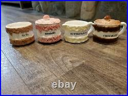 Holt Howard 1959 Set of 4 Ice Cream Sundae Bowls Pitchers