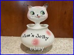Holt Howard Cat Jam n Jelly Jar Cozy Kitten Pixie