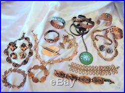 Huge Vintage Eames Era Retro MID Century Mod Renoir & More Copper Lot