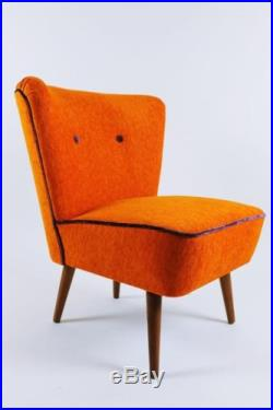 Wonderful Hungarian Vintage Retro Mid Century Club Cocktail Lounge Chair 1960s