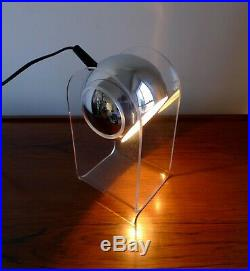 ICONIC SPACE AGE MID-CENTURY TABLE LAMP BY INSTA SENSORETTE 60s Retro Vintage