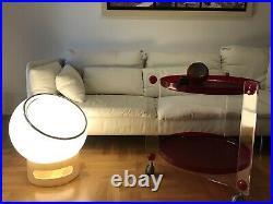 Iconic Clan Harvey Guzzini Meblo Beautiful Big Bud Floor Lamp Plastic-fantastic
