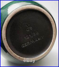 Impressive Vintage Retro Dumler Breiden West German Pottery Vase MID Century