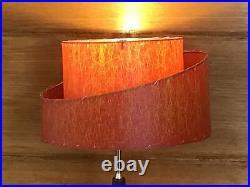 Ivory Mid Century Modern Vintage Style Lamp Shade Atomic Retro 8811