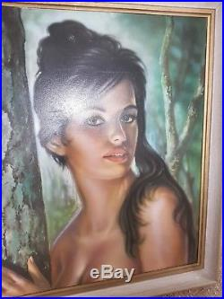JH LYNCH Tina Vintage ORIGINAL 1960s Print Retro Picture Mid Century